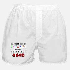 Insanity 4 Rage Boxer Shorts