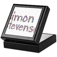 Simon Stevens' Full Logo Keepsake Box
