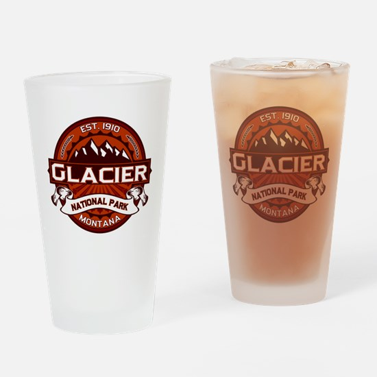 Glacier Crimson Drinking Glass