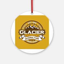 Glacier Goldenrod Ornament (Round)