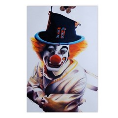 Clown Fear Postcards (Package of 8)
