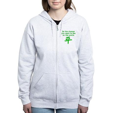 Be the Change Women's Zip Hoodie