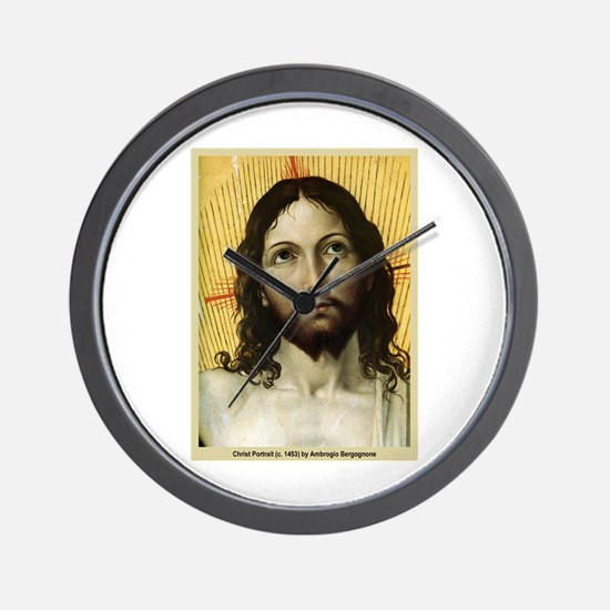 Christ Portrait c. 1453 Wall Clock