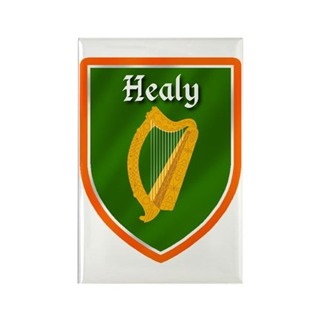 Healy Family Crest Rectangle Magnet (100 pack)