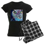 Women's Night Owl Dark Pajamas