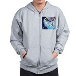 Women's Night Owl Zip Hoodie