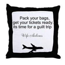 Cool Get ready Throw Pillow