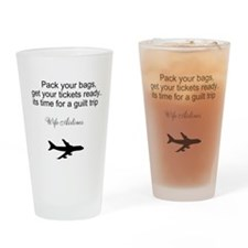 Funny Get ready Drinking Glass