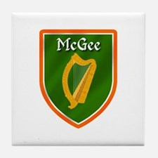McGee Family Crest Tile Coaster