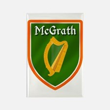 McGrath Family Crest Rectangle Magnet