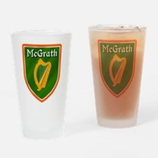 McGrath Family Crest Drinking Glass