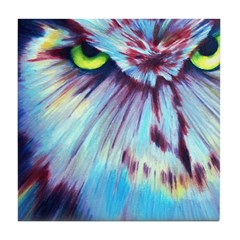 Night Owl Tile Coaster