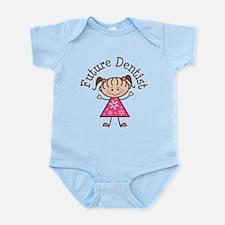 Future Dentist Girl Infant Bodysuit