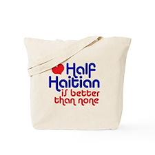 Half Haitian Tote Bag