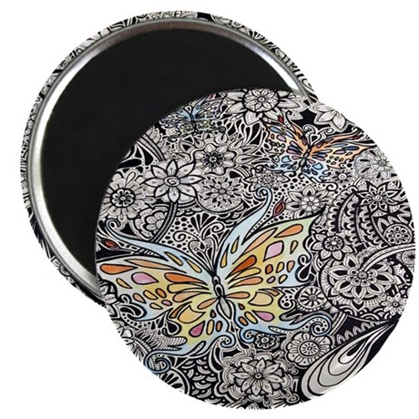 Butterfly Ink Magnet