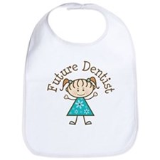Future Dentist Girl Bib