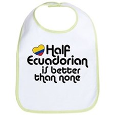 Half Ecuadorian Bib