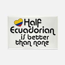 Half Ecuadorian Rectangle Magnet