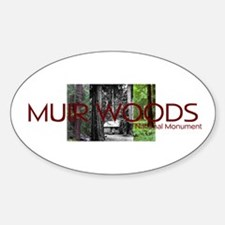 ABH Muir Woods Sticker (Oval)