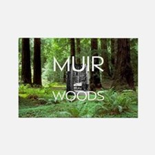 ABH Muir Woods Rectangle Magnet