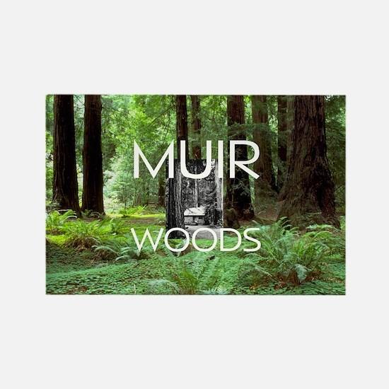 ABH Muir Woods Rectangle Magnet