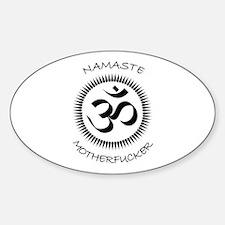 Namaste Sticker (Oval)