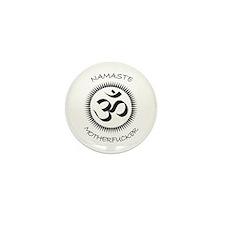 Namaste Mini Button (10 pack)