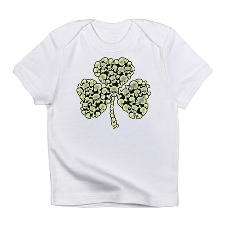 Irish Shamrock Made Of Skulls Infant T-Shirt