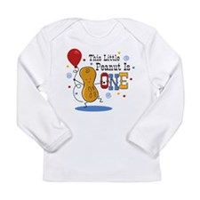 Little Peanut 1st Birthday Long Sleeve Infant T-Sh