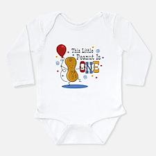 Little Peanut 1st Birthday Long Sleeve Infant Body