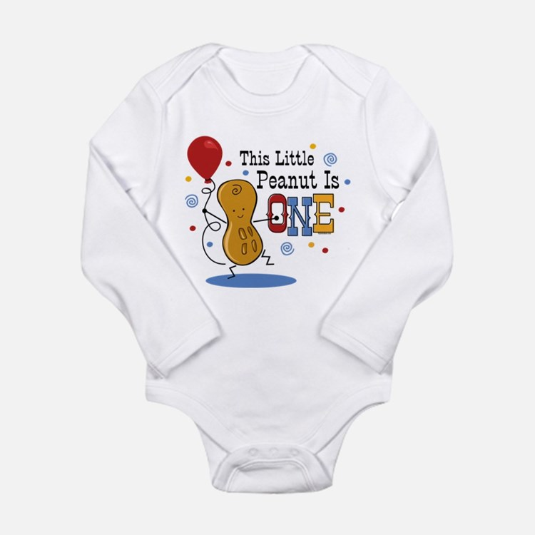 Little Peanut 1st Birthday Long Sleeve Infant Body