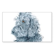 Black Labradoodle #2 Decal