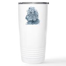 Black Labradoodle #2 Travel Mug