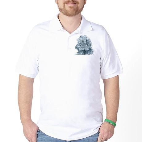 Black Labradoodle #2 Golf Shirt