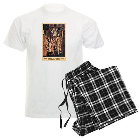 Christ Leading the Patriarchs Men's Light Pajamas