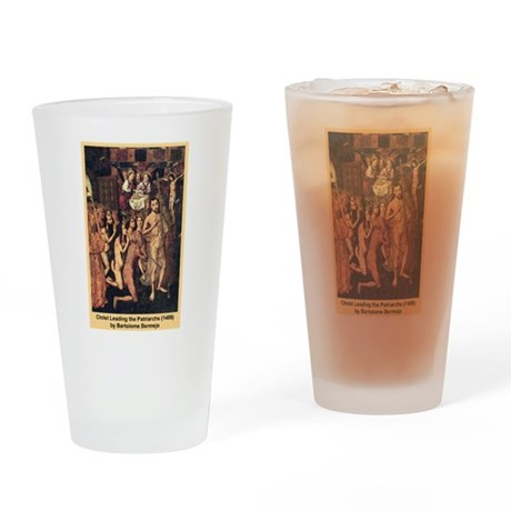 Christ Leading the Patriarchs Drinking Glass