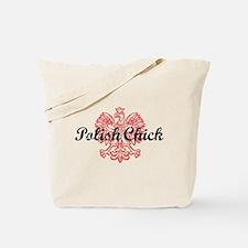 Polish Chick Tote Bag