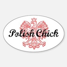 Polish Chick Decal