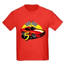 Race Car 5th Birthday T