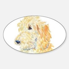 Cream Labradoodle 1 Decal