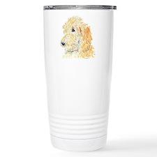 Cream Labradoodle 1 Travel Mug