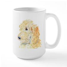 Cream Labradoodle 1 Coffee Mug