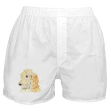 Cream Labradoodle 1 Boxer Shorts
