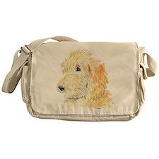 Cream Labradoodle 1 Messenger Bag