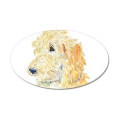 Cream Labradoodle 1 Wall Decal
