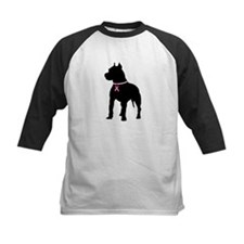 Pitbull Terrier Breast Cancer Support Tee