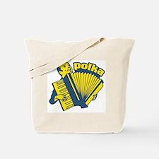 Polka Fan Tote Bag