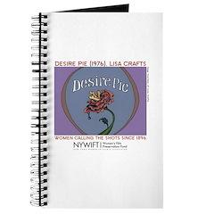 Desire Pie Rose Journal