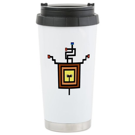 Wired Stainless Steel Travel Mug