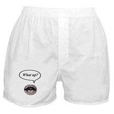 what up? Boxer Shorts